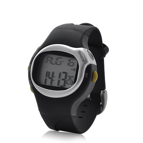 Sports Exercise Watch - Pulse + Calorie Reader, LCD Display