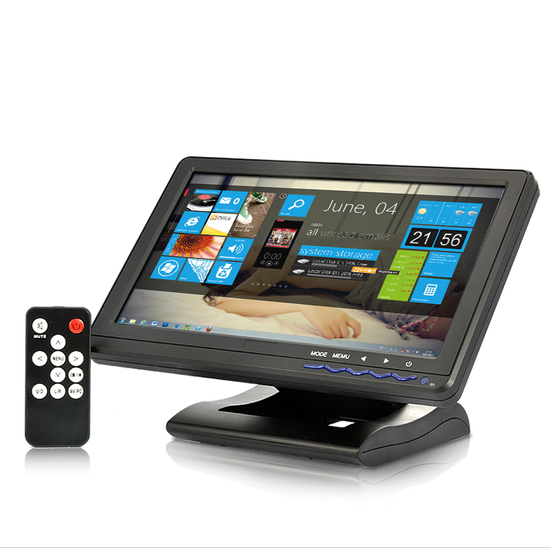 10.1 Inch Wide Touchscreen Monitor - HDMI, AV, VGA, YPbPr
