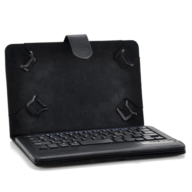 Universal Bluetooth Keyboard Case for 7 to 8 Inch IOS + Android + Window Tablets - Bluetooth 3.0