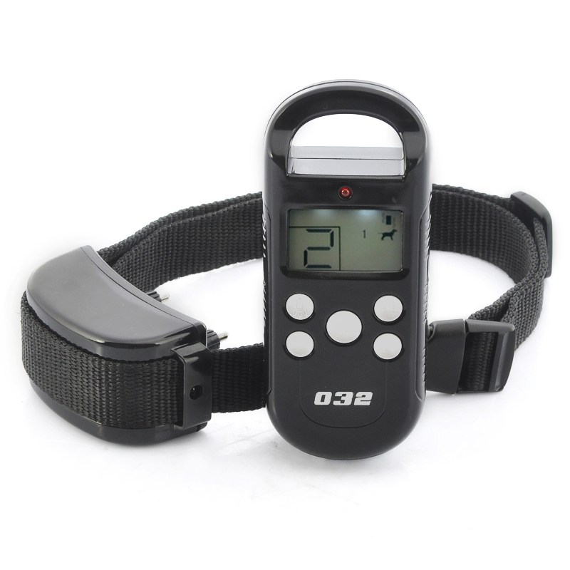 Dog Training Collar - Vibration + Shock Selectable, 4 Shock Levels, LCD Display Screen