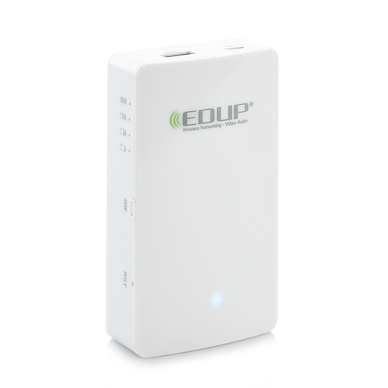 EDUP Cloud Assistant 150mbps 3G Router - Power Bank Function, Wi-Fi Disk, Latest IEEE 802.11N Standard