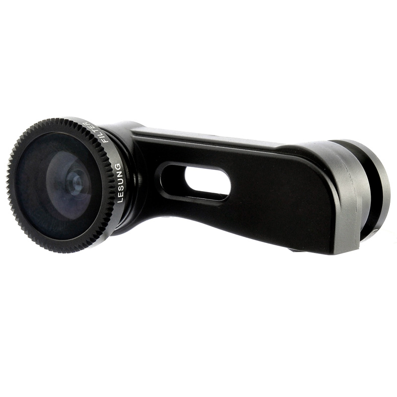 3-in-1 Lens Kit for iPhone 5 - Fish Eye Lens, Wide Angle Lens, Macro Lens