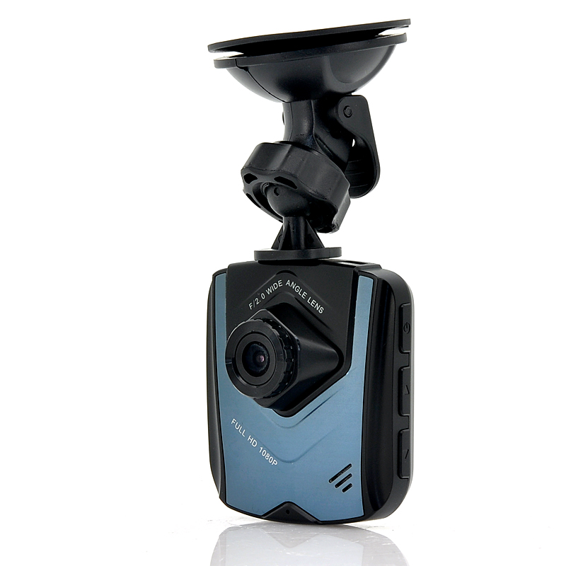 2.4 Inch TFT 5 Megapixel CMOS Wide Angle Car DVR - 1080p, Motion Detection, 4x Digital Zoom, G-Sensor, HDMI Port