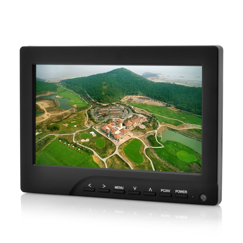 7 Inch FPV Monitor For RC Models 'Aero' - Sun Shield, Adjustable Video System, Anti Video Black Out Technolgy