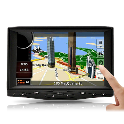 7 Inch HD Touchscreen Car Monitor (HDMI, AV, VGA)