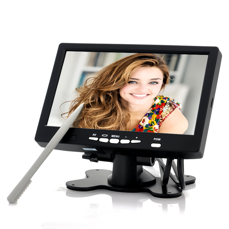 7 Inch Touchscreen LCD with VGA (In-car Entertainment, PC, POS)