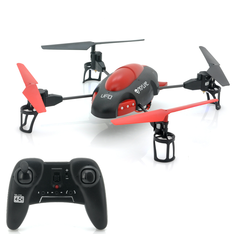 RC Quad Copter 'Sky-Line' - 4 Channels, 2.4GHz Frequency