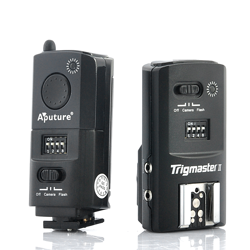 2.4GHz Flash Trigger + Camera Shutter 'Aputure Trigmaster II' - For Canon DSLR Camera, Radio Remote Strobe Flash + Speedlight