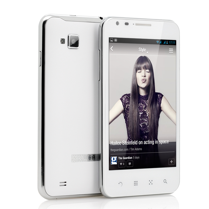 5 Inch Android Mobile Phone 'Caesar' - Qualcomm Snapdragon Quad Core 1.2GHz CPU, 10 Point Capacitive Touch Screen