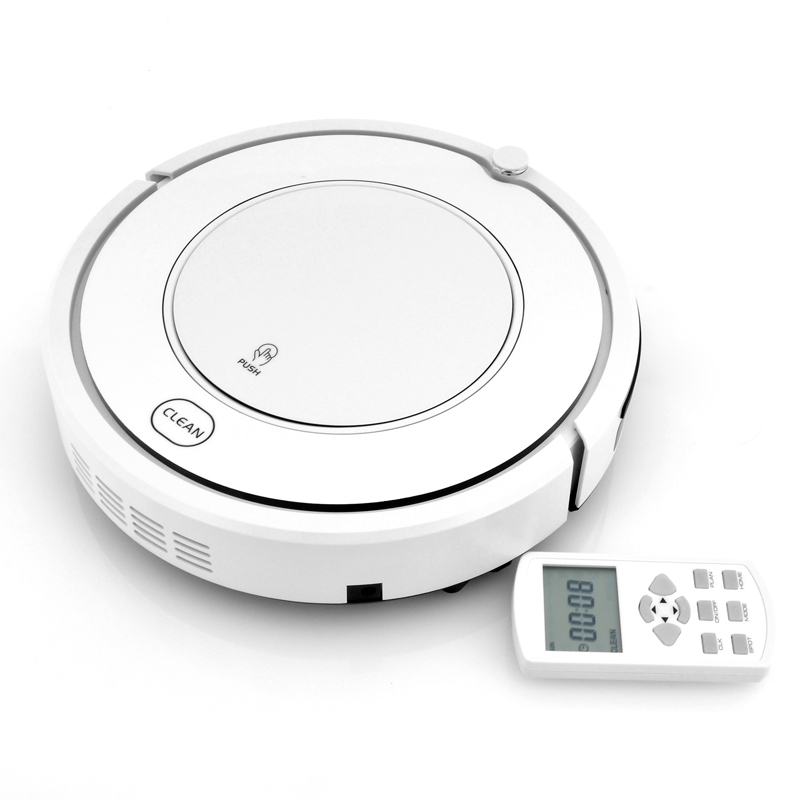 Robot Vacuum Cleaner - Ultra-Thin Design, Four Cleaning Modes