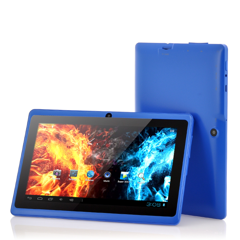 7 inch Budget Android Tablet PC 'Helos' - 1GHz CPU, 512MB, Wi-Fi, 4GB Memory (Blue)