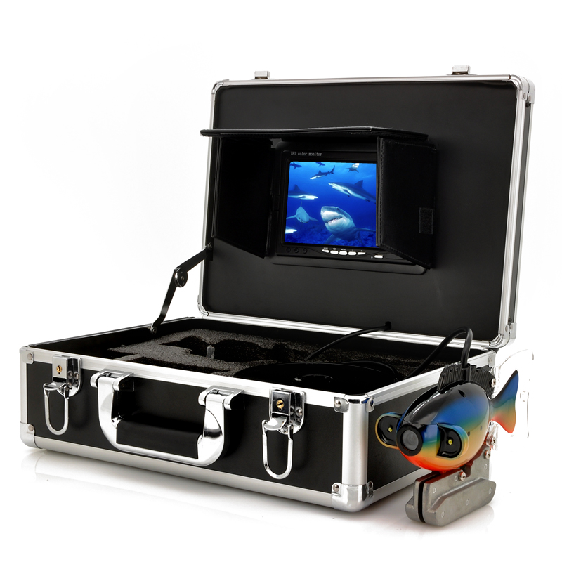 Deep Water Camera Set - 7 Inch LCD Screen, Carrying Case, 600TVL, 20 Meter Cable
