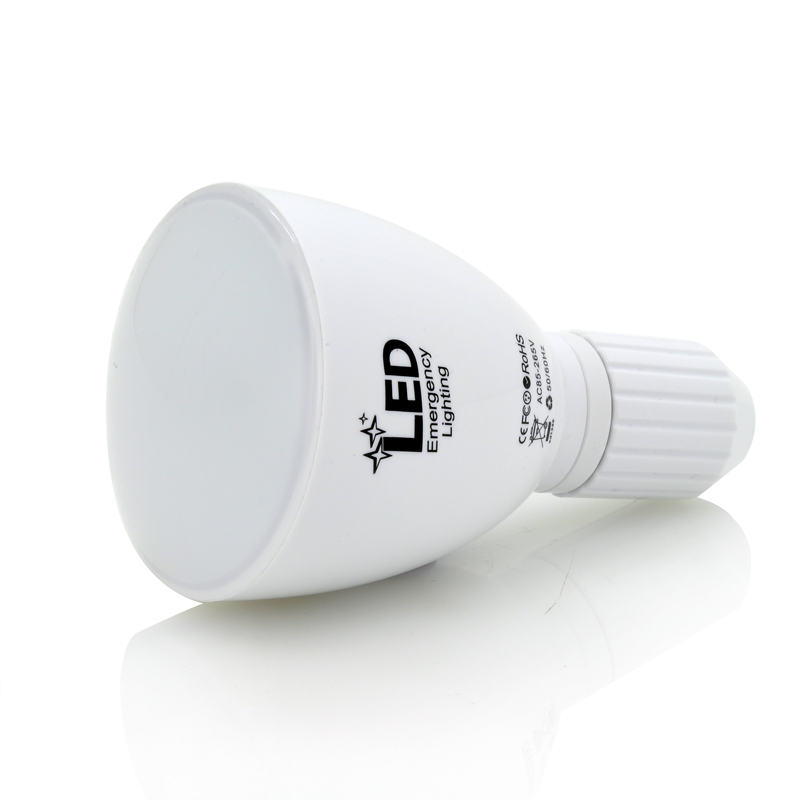 2-In-1 LED Bulb and Flashlight Combination 'Apollo' - 4 Watts, 30,000 Hour Lifespan, Remote Control