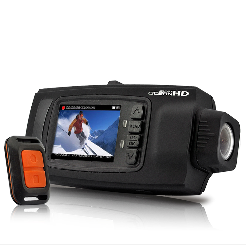 Waterproof HD Multi-Action Sports Camera with 90 Degree Rotatable Lens