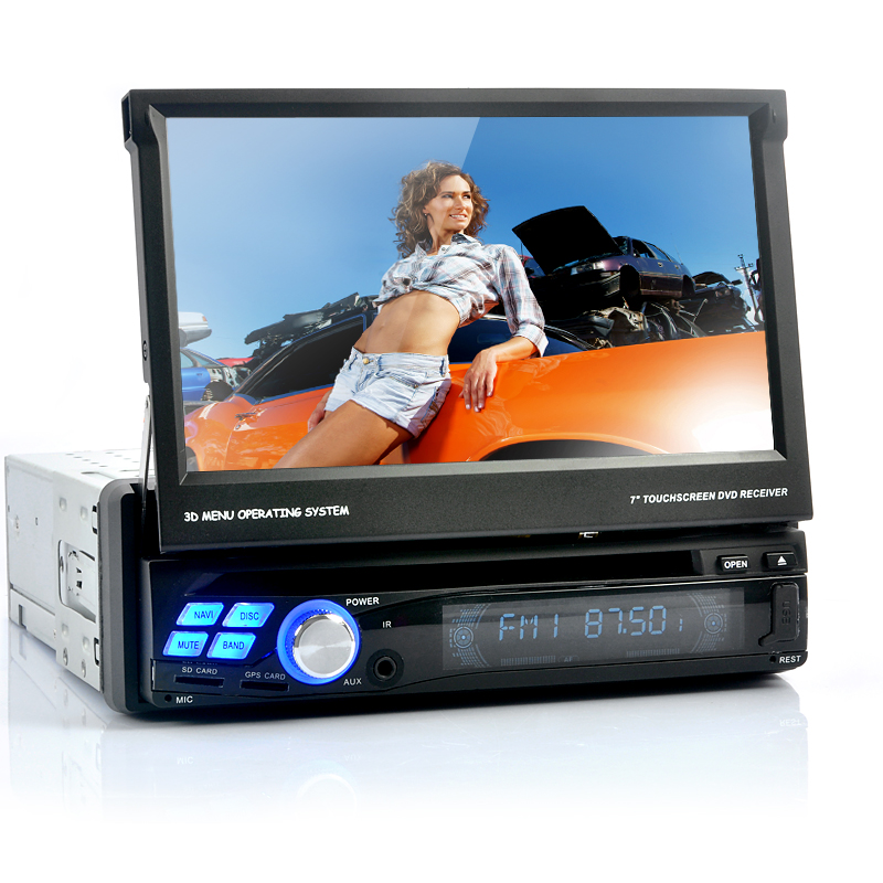 Single DIN Car DVD Player - Android 4.0 Operating System, 3G, Wi-Fi, GPS, Analog TV