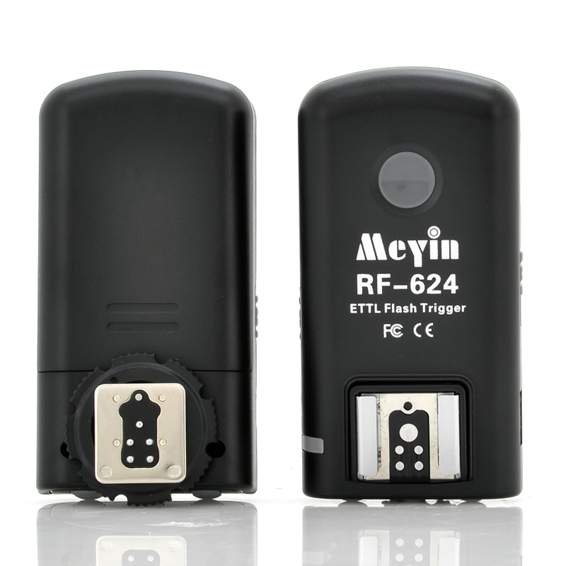 Meyin RF-624 Wireless TTL Flash Trigger For Canon Camera - 200 to 500 Meters Operating Distance