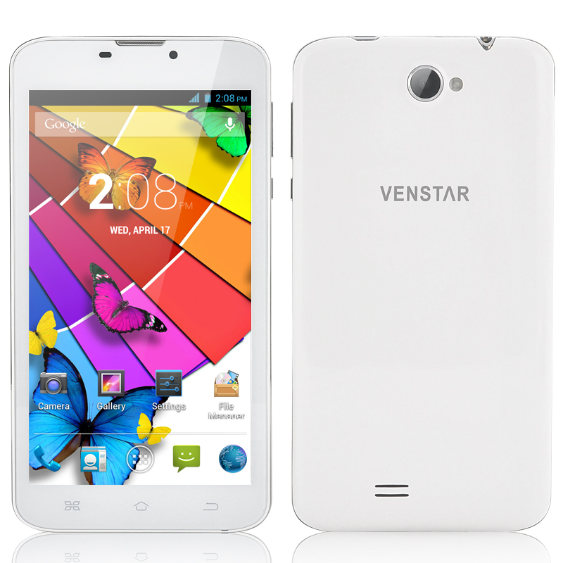 Venstar 640 Phablet - MTK8382 Quad Core 1.3GHz CPU, 6 Inch Display, Android 4.2 OS