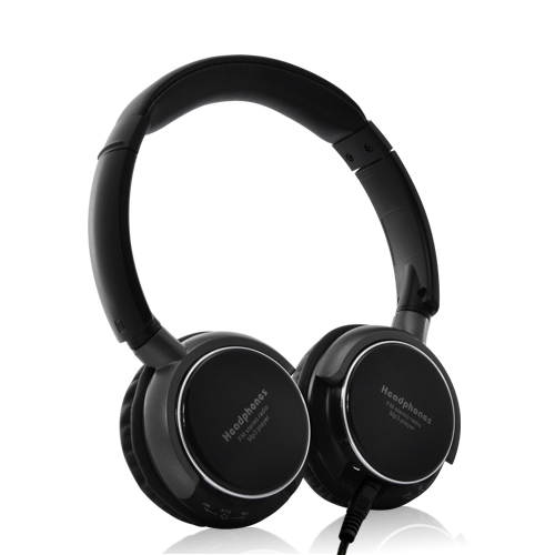 SoundMax - Over-the-Ear Headphone (Built-in MP3 Player + FM Radio)