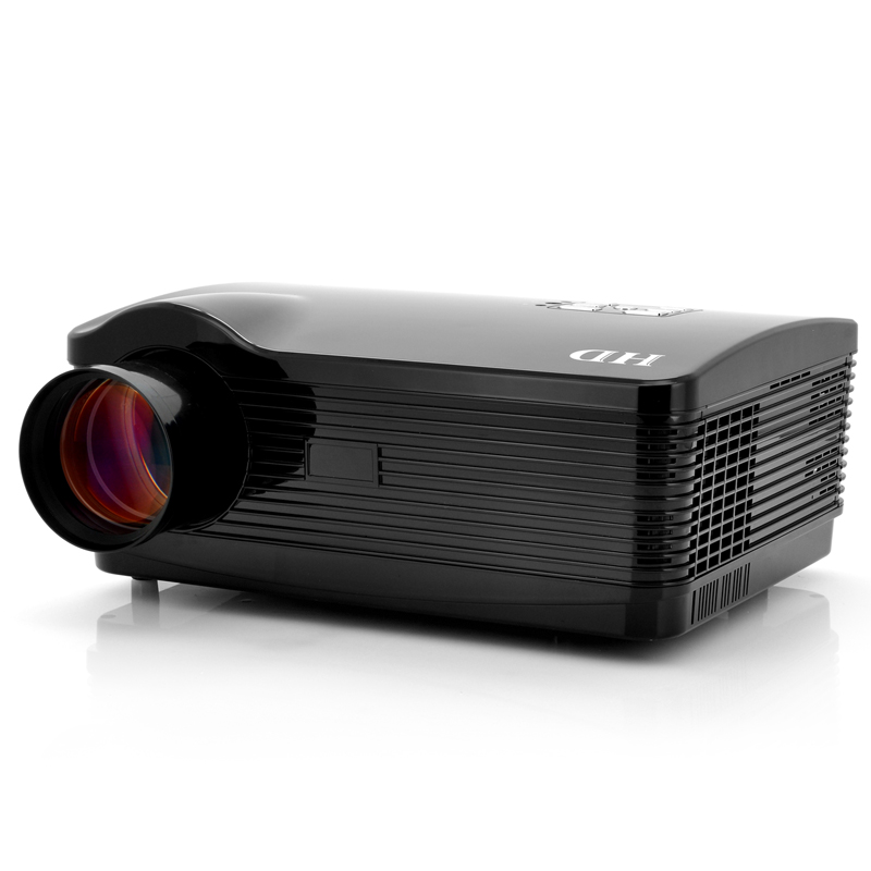 Android 4.2 HD Projector 'DroidBeam' - 3000 Lumens, 2000:1, WiFi, 1.5GHz Dual Core CPU, 8GB Internal Memory (Black)