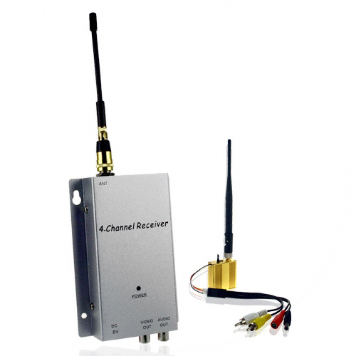 Wireless Signal Booster and Receiver Kit - 300 Meter Range