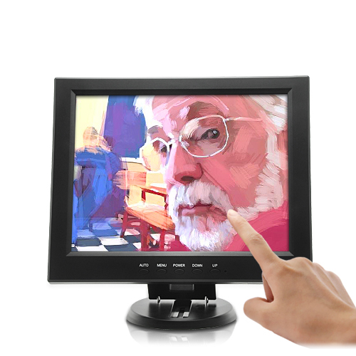 12 Inch Touchscreen LCD with VGA - 800x600