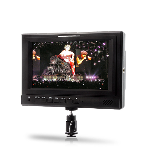 7 Inch On-Camera HD Monitor 'Horizon' - Focus Assist for Professional Video Camcorders