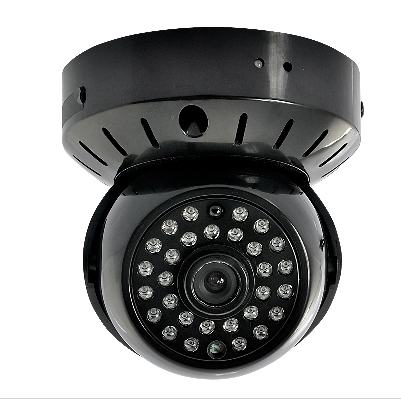 CCTV Dome Camera - MicroSD Recording, Built-in Battery, Nightvision