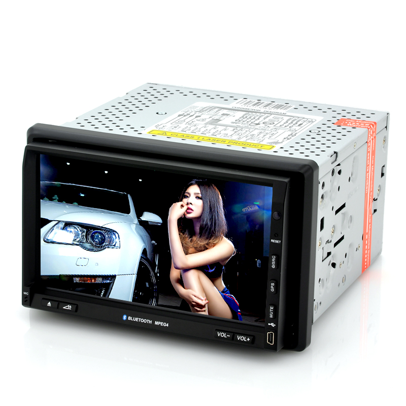 2 DIN Car DVD Player 'Nitro' - 7 Inch Touch Screen, GPS, DVB-T TV, Windows CE 6.0