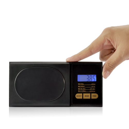 Digital Pocket Scale with LCD Screen (500 by 0.1G)