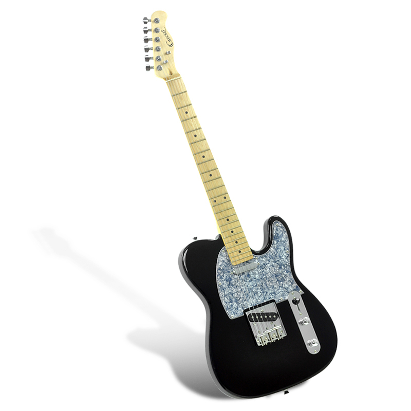 Electric Guitar 'Gecko GE-263 TL' - Single Coil Pickups + T Style Pickup, 22 Frets