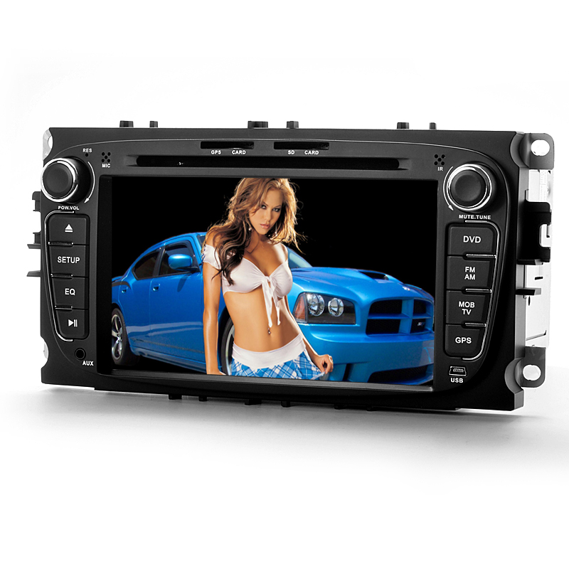 Android Car DVD Player 'Road Avenger II' - For Ford Mondeo, 7 Inch Screen, 8GB Internal Memory, GPS, Wi-Fi, 3G, DVB-T (2 DIN)