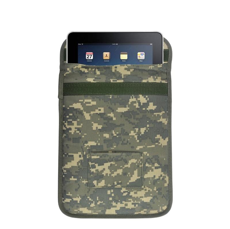 Protective Anti-Radiation/Signal Blocking Case for iPad/iPad2/iPad3 and other Tablet PCs - Army Green