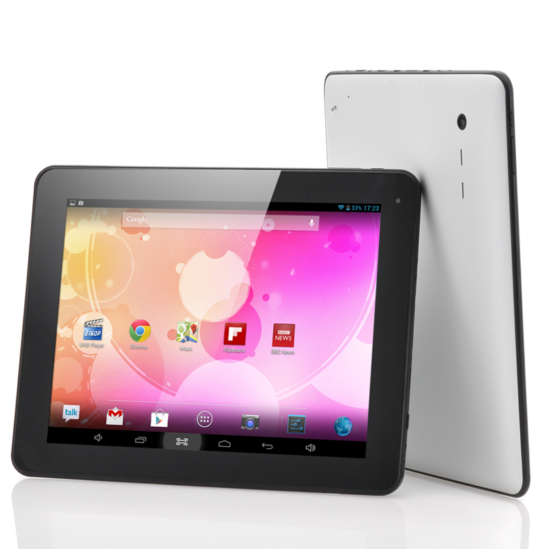Budget 9.7 Inch Screen Android 4.2 Tablet 'Aston' - Dual Core 1.2GHz CPU, 5 Point Capacitive Touch Screen