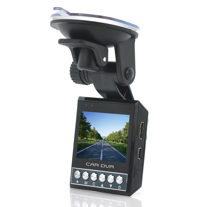 Car Dashcam with Night Vision 'ProteX' - 1080p, G-Sensor, 4x Digital Zoom, 2 Inch Screen
