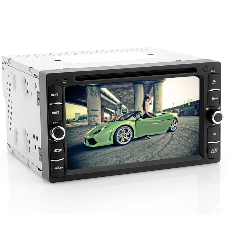 Android 2DIN Car DVD Player 'Krypton' - 6.2 Inch Touch Screen, Dual DVB-T Tuner, Bluetooth